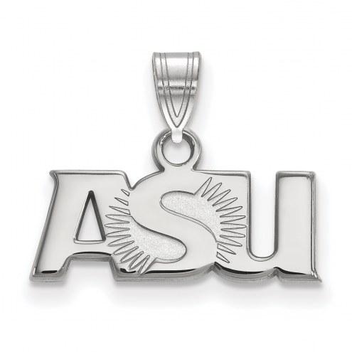 Arizona State Sun Devils NCAA Sterling Silver Small Pendant