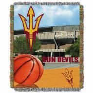 Arizona State Sun Devils NCAA Woven Tapestry Throw Blanket