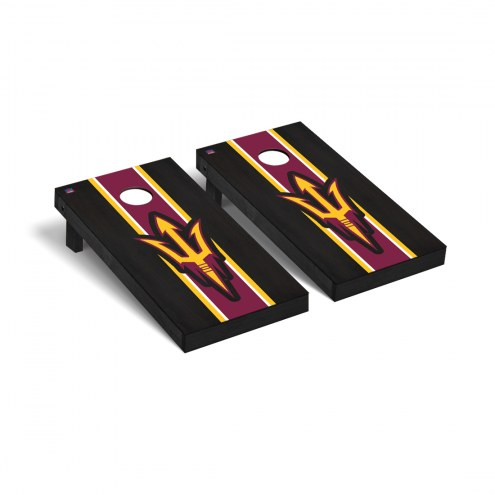 Arizona State Sun Devils Onyx II Stained Cornhole Game Set