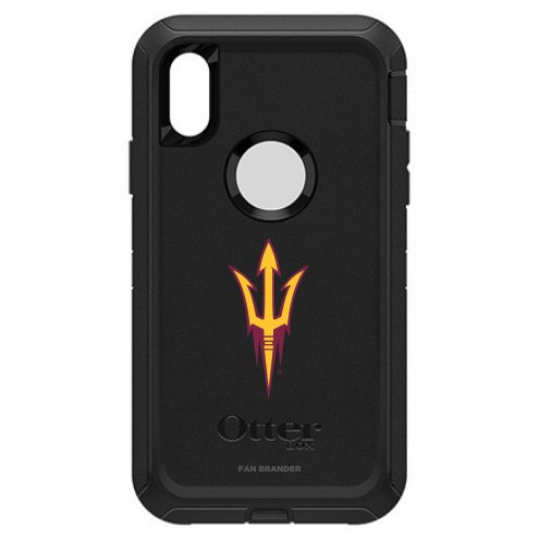 Arizona State Sun Devils OtterBox iPhone XR Defender Black Case
