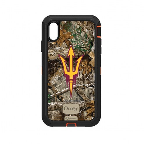 Arizona State Sun Devils OtterBox iPhone XS Max Defender Realtree Camo Case