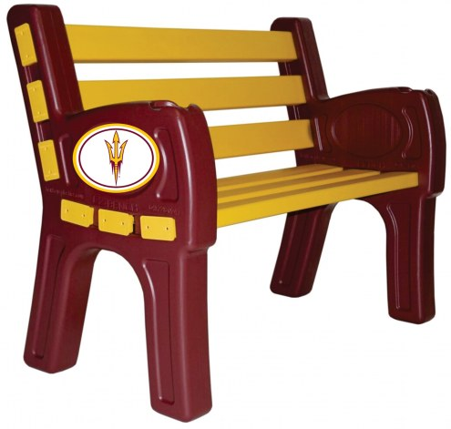 Arizona State Sun Devils Park Bench