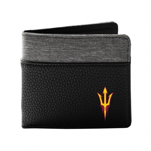 Arizona State Sun Devils Pebble Bi-Fold Wallet