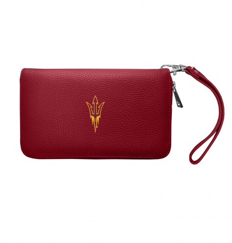Arizona State Sun Devils Pebble Organizer Wallet