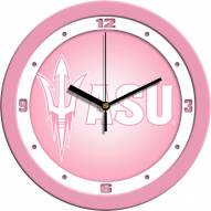 Arizona State Sun Devils Pink Wall Clock