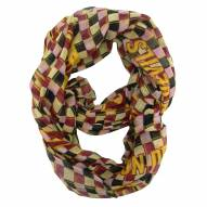 Arizona State Sun Devils Plaid Sheer Infinity Scarf