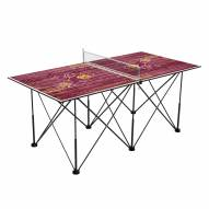 Arizona State Sun Devils Pop Up 6' Ping Pong Table