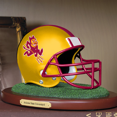 Arizona State Sun Devils Collectible Football Helmet Figurine