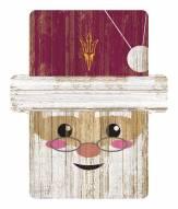 Arizona State Sun Devils Santa Ornament