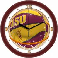 Arizona State Sun Devils Slam Dunk Wall Clock
