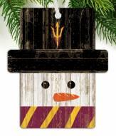 Arizona State Sun Devils Snowman Ornament