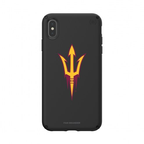 Arizona State Sun Devils Speck iPhone XS Max Presidio Pro Black Case