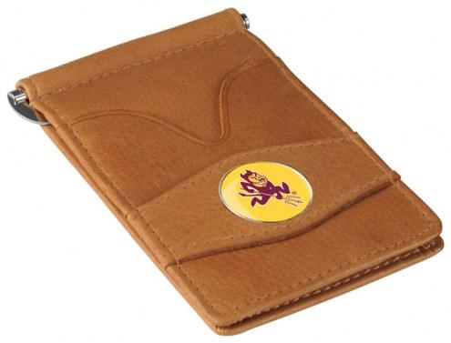 Arizona State Sun Devils Tan Player's Wallet
