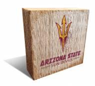 Arizona State Sun Devils Team Logo Block