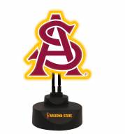 Arizona State Sun Devils Team Logo Neon Light