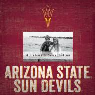 "Arizona State Sun Devils Team Name 10"" x 10"" Picture Frame"