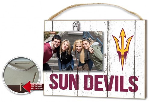 Arizona State Sun Devils Weathered Logo Photo Frame