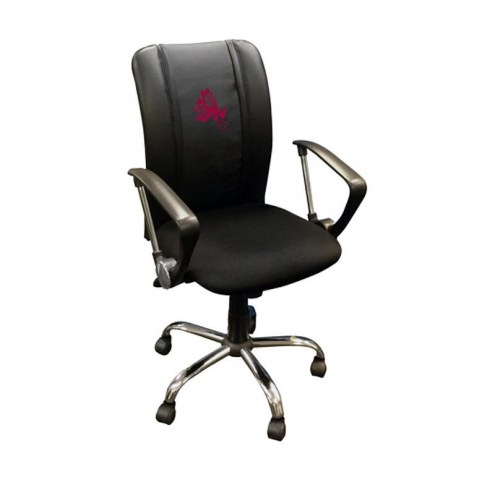 Arizona State Sun Devils XZipit Curve Desk Chair with Sparky Logo