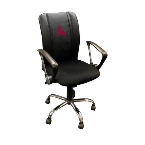 Arizona State Sun Devils XZipit Curve Desk Chair with Sparky Logo
