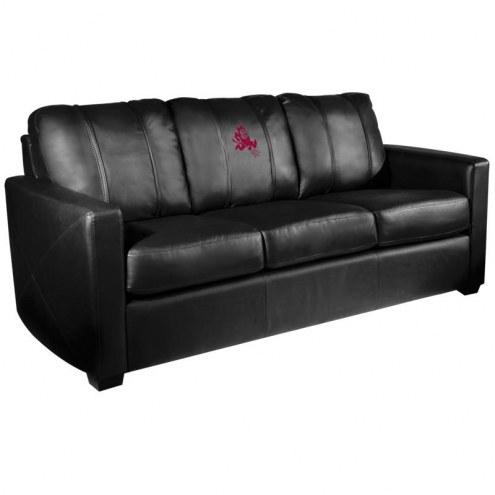 Arizona State Sun Devils XZipit Silver Sofa with Sparky Logo