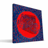 "Arizona Wildcats 12"" x 12"" Born a Fan Canvas Print"
