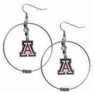 "Arizona Wildcats 2"" Hoop Earrings"