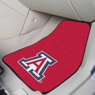 Arizona Wildcats 2-Piece Carpet Car Mats