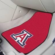 Arizona Wildcats 2-Piece Carpet Car Mats