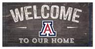 "Arizona Wildcats 6"" x 12"" Welcome Sign"