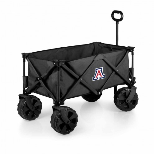 Arizona Wildcats Adventure Wagon with All-Terrain Wheels