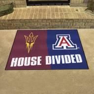 Arizona Wildcats/Arizona State Sun Devils House Divided Mat