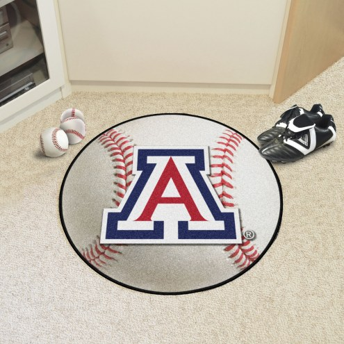 Arizona Wildcats Baseball Rug