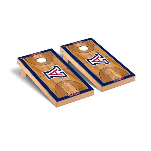 Arizona Wildcats Basketball Court Cornhole Game Set