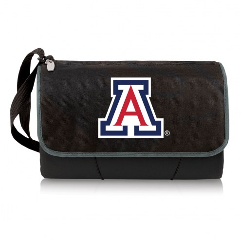 Arizona Wildcats Black Blanket Tote