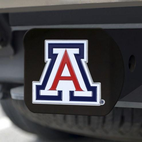 Arizona Wildcats Black Color Hitch Cover