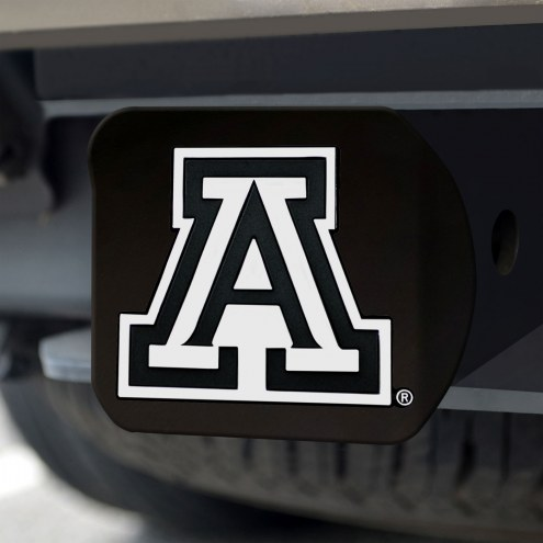 Arizona Wildcats Black Matte Hitch Cover