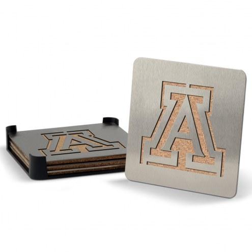 Arizona Wildcats Boasters Stainless Steel Coasters - Set of 4