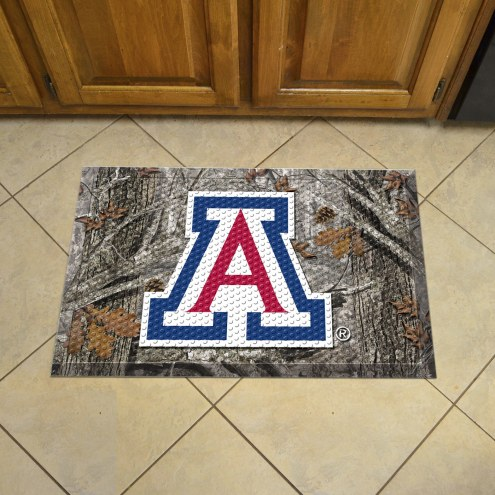 Arizona Wildcats Camo Scraper Door Mat