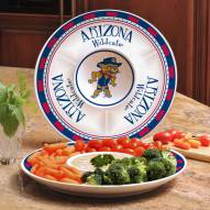 Arizona Wildcats Ceramic Chip and Dip Serving Dish