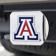Arizona Wildcats Chrome Color Hitch Cover