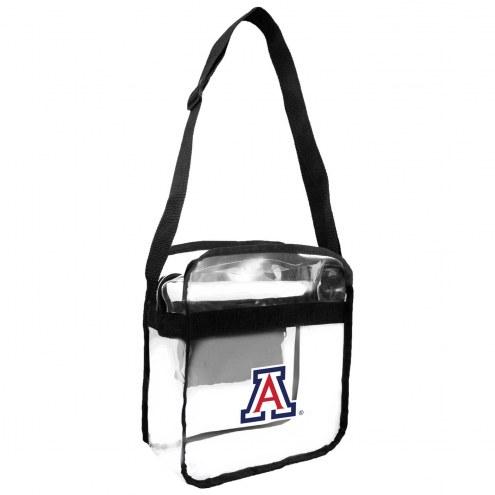 Arizona Wildcats Clear Crossbody Carry-All Bag