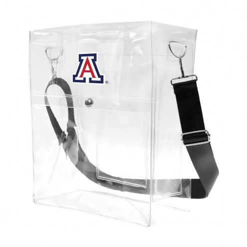 Arizona Wildcats Clear Ticket Satchel
