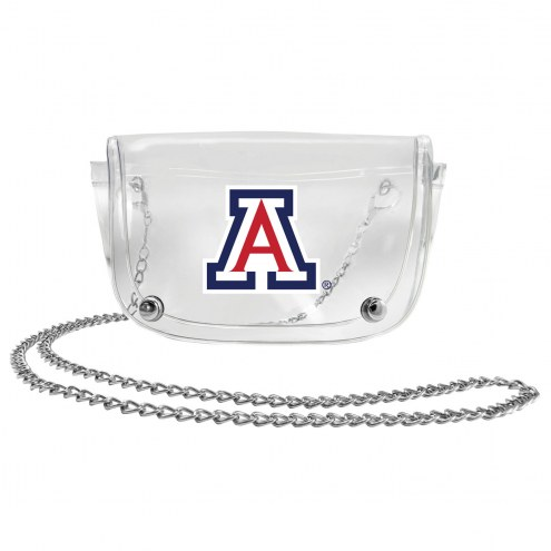 Arizona Wildcats Clear Waistpack