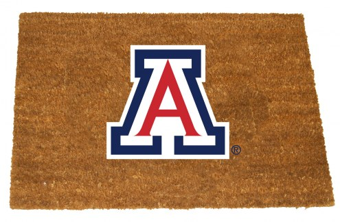 Arizona Wildcats Colored Logo Door Mat