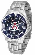 Arizona Wildcats Competitor Steel AnoChrome Color Bezel Men's Watch