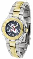 Arizona Wildcats Competitor Two-Tone AnoChrome Women's Watch