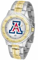 Arizona Wildcats Competitor Two-Tone Men's Watch