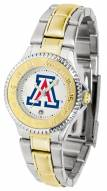 Arizona Wildcats Competitor Two-Tone Women's Watch