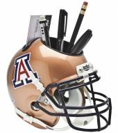 Arizona Wildcats Copper Schutt Football Helmet Desk Caddy