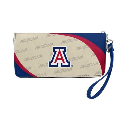Arizona Wildcats Curve Zip Organizer Wallet